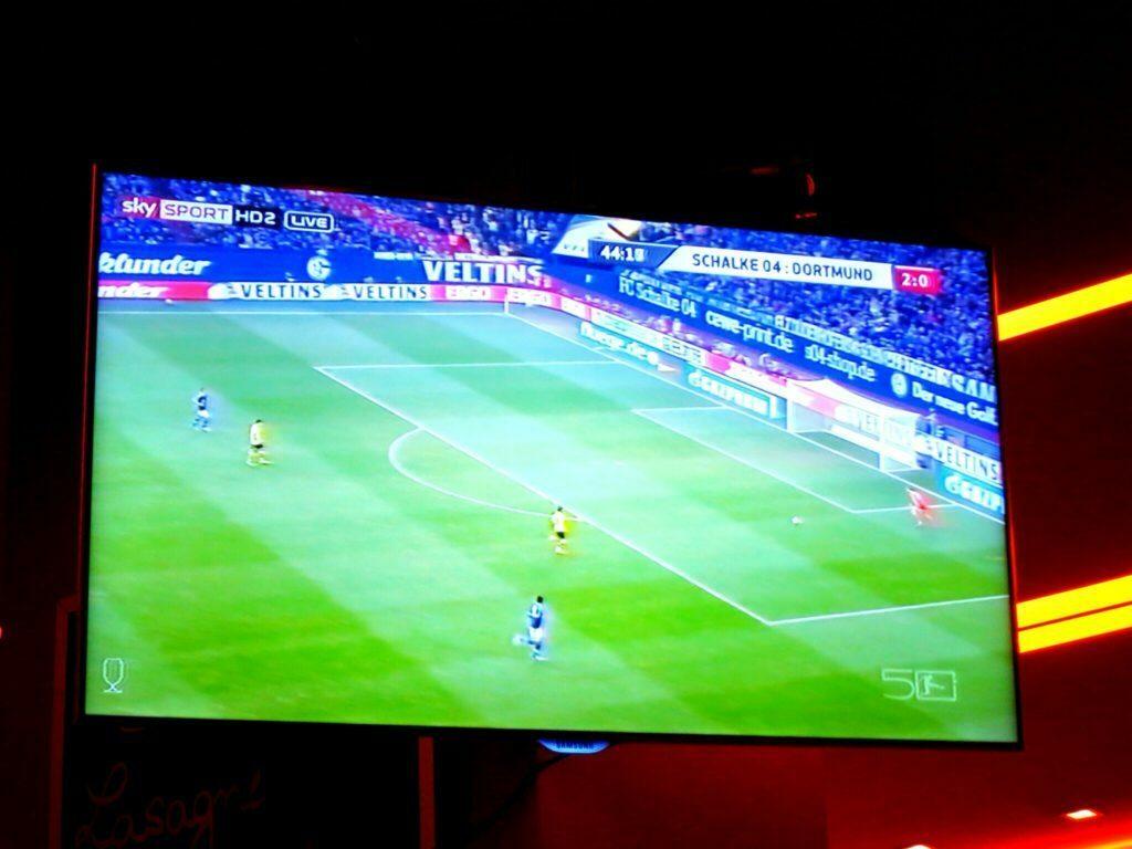Fußballspiel Schalke gegen BVB im Bermudadreieck, Bochum
