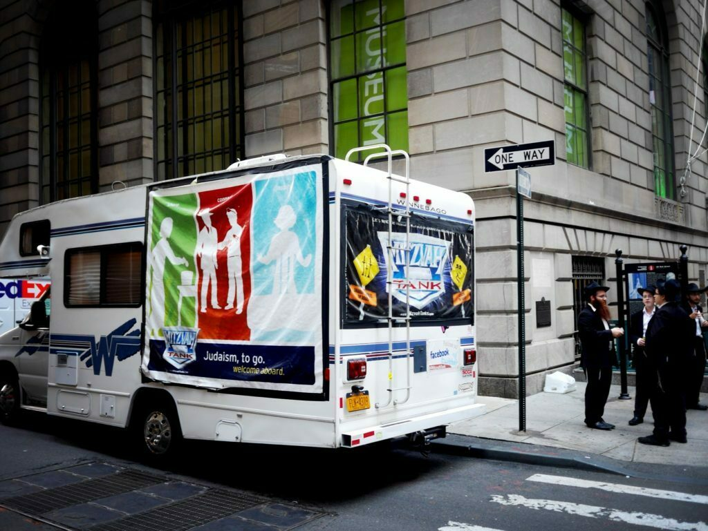 Judaism-to-go in New York