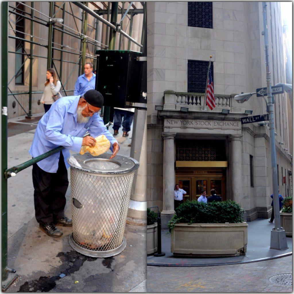 Wall Street - Die Gegensätze