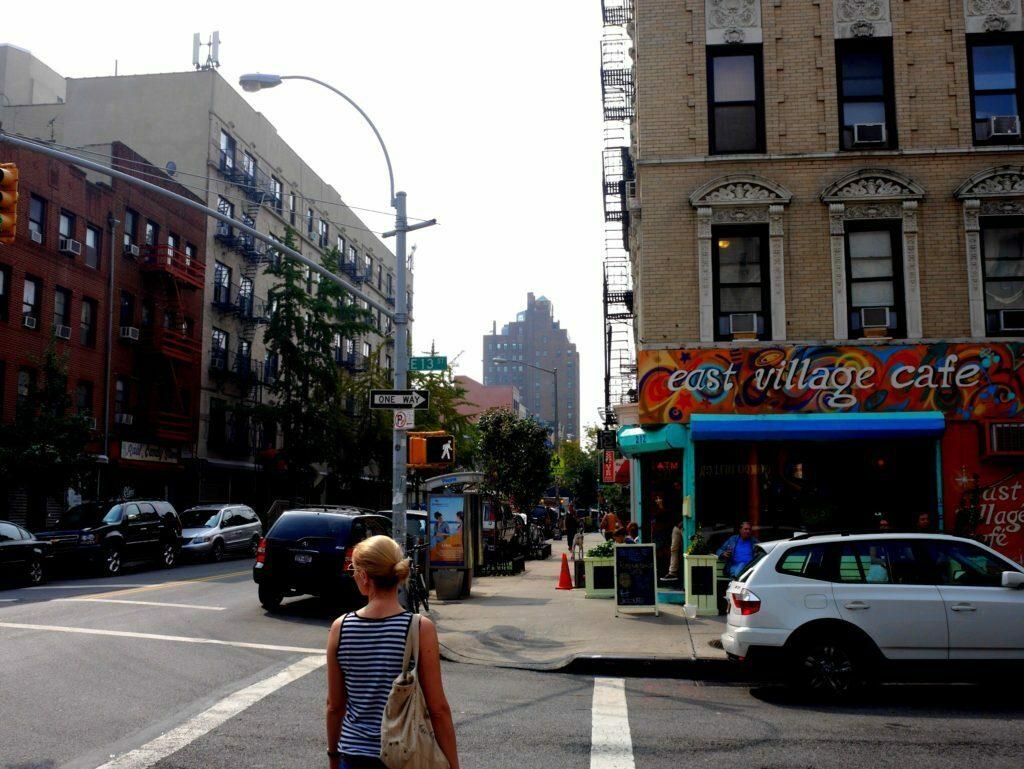Unterwegs in East Village - New York