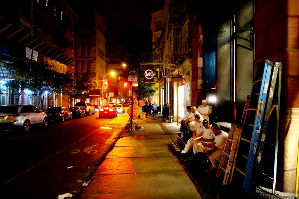 Feierabend in New York