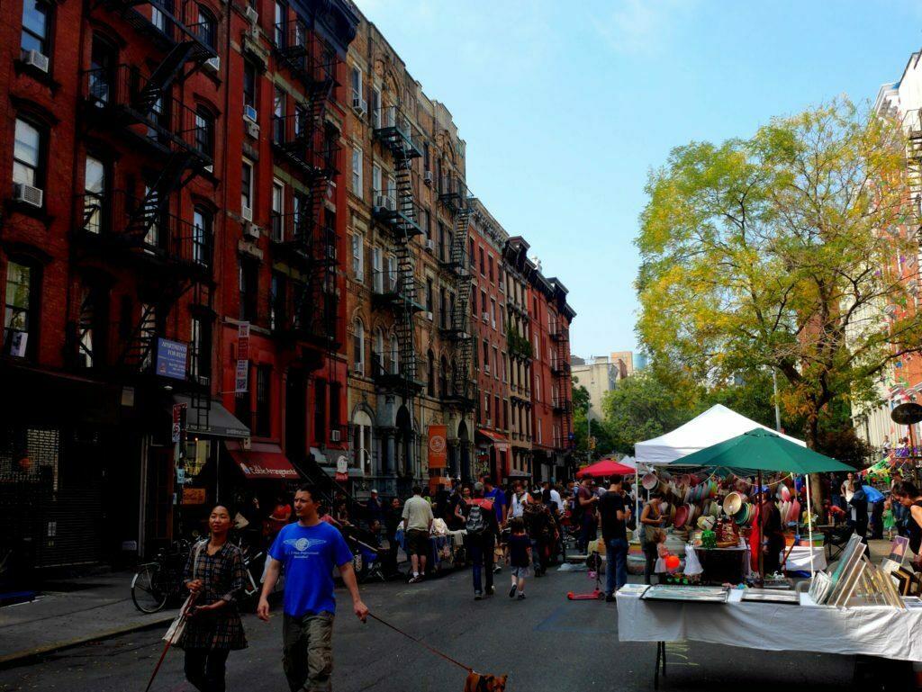 Straßenfest in East Village