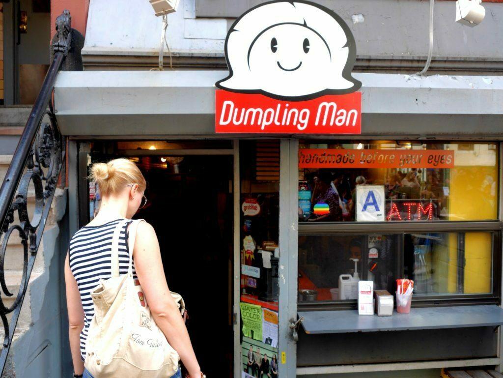 "Sehr gute Dumplings vom ""Dumpling Man"""