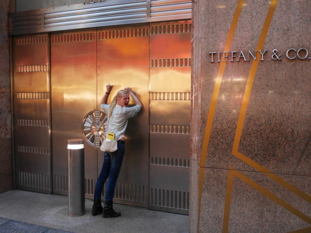 Tiffanys in new York