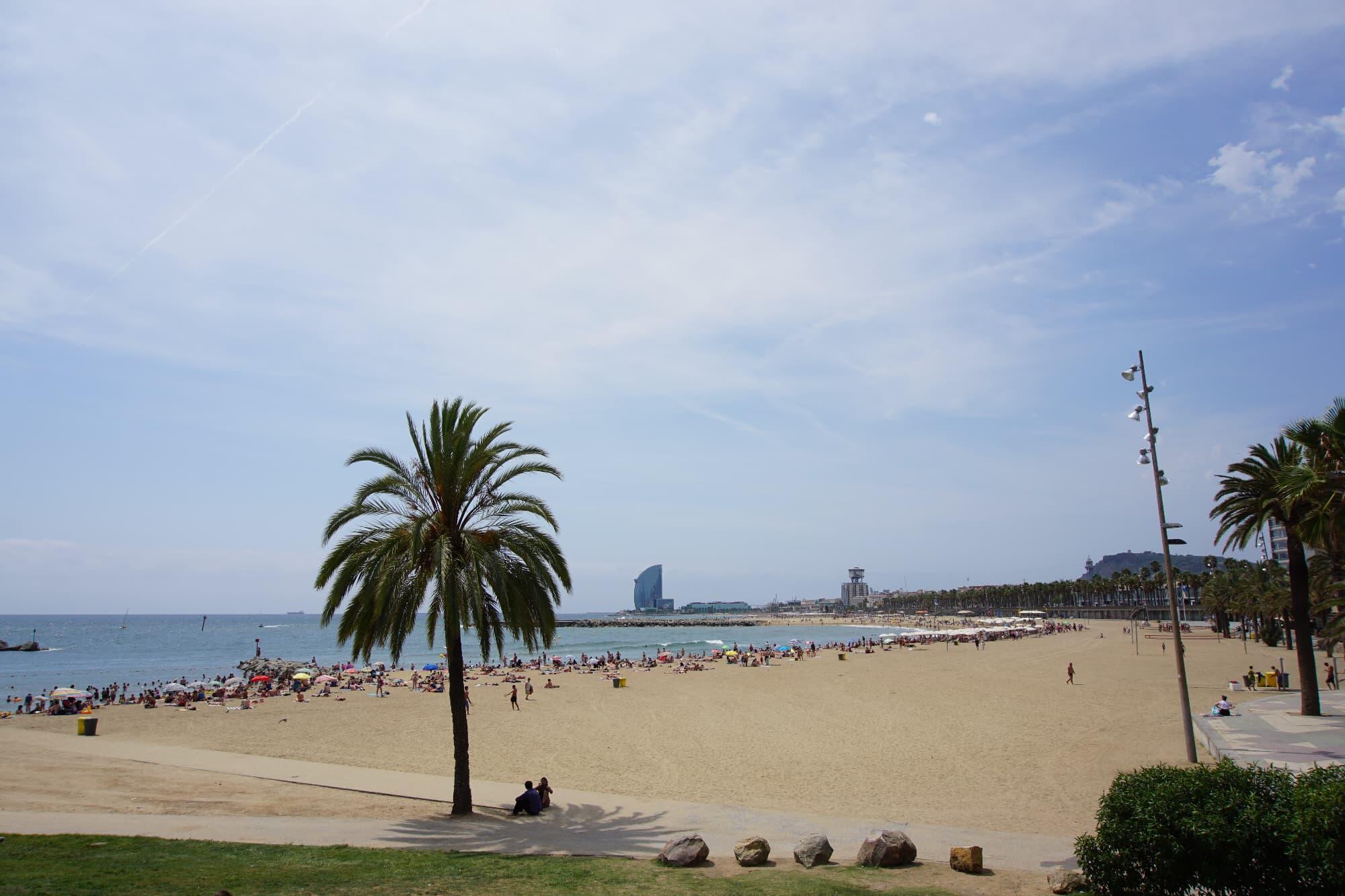 Barceloneta -auswandern nach Barcelona