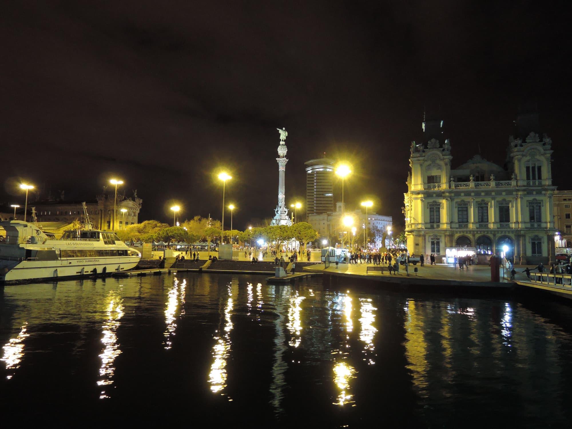 Mirador de Colom bei Nacht