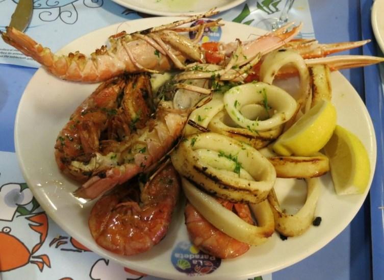 La Paradetta- die besten Meeresfrüchte-Restaurants in Barcelona