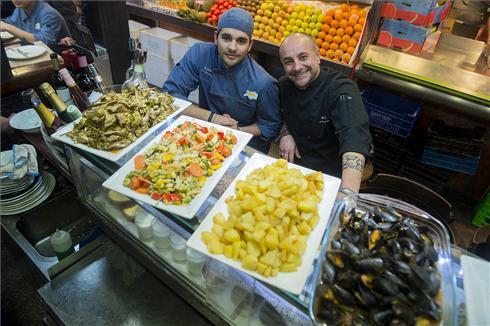 Quim-beste Tapas-Bars-in Barcelona-Meeresfrüchte