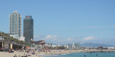 Strand in Barcelona - Sehenswürdigkeiten in Barcelona