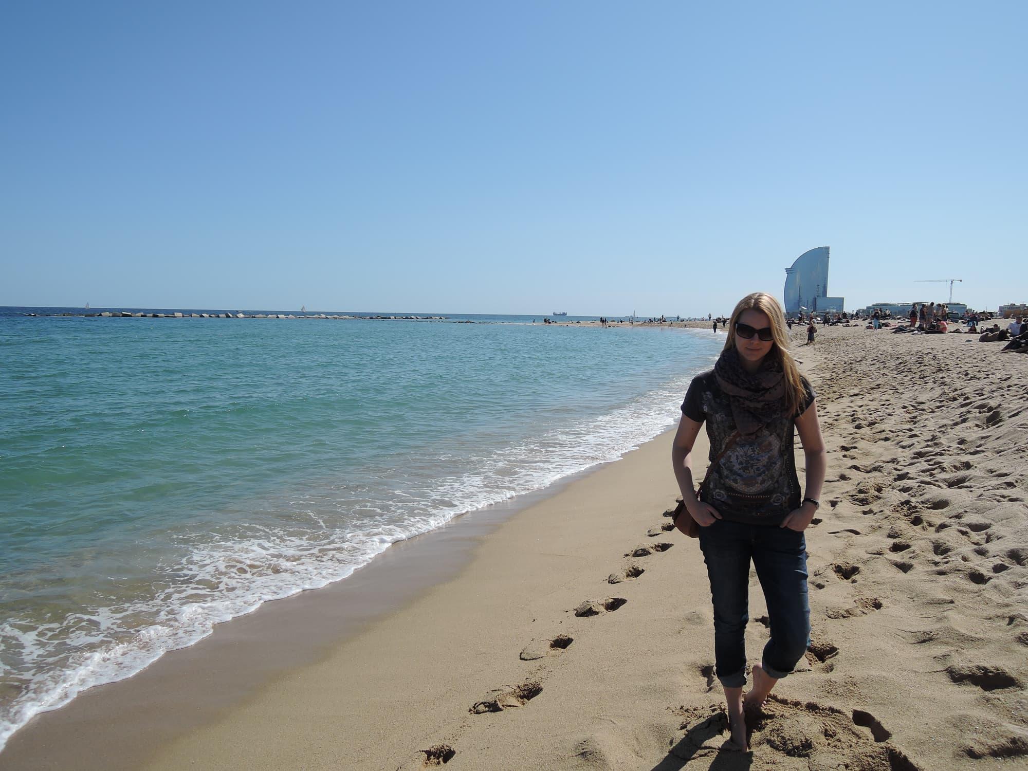 Stadtstrand von Barcelona