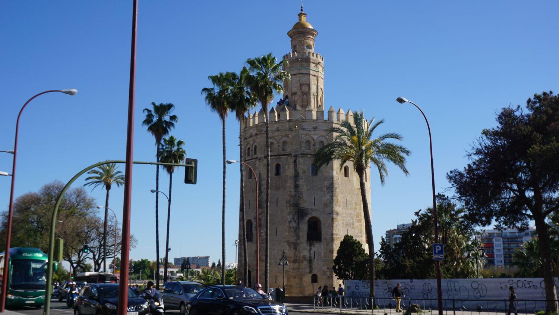 Andalusien Rundreise Sevilla: Torre del Oro