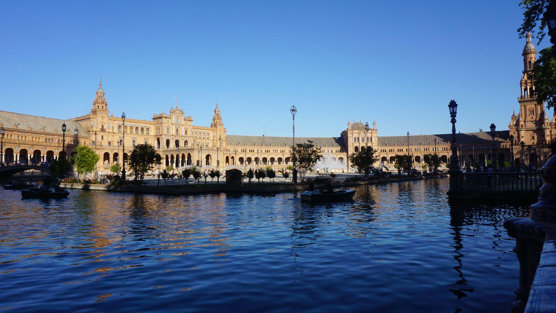 Andalusien Rundreise Sevilla: Plaza Espanya