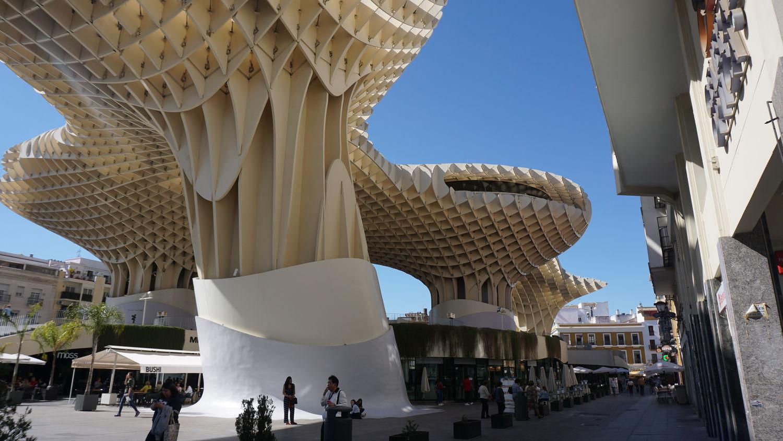Andalusien Rundreise Sevilla Metropol Parasol