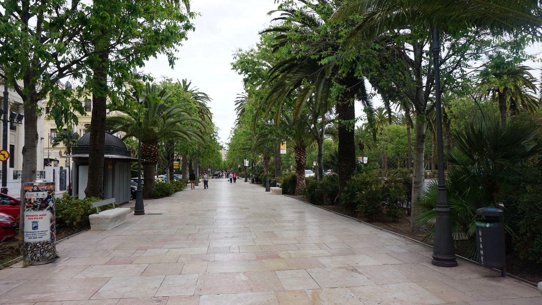 Rundreise Andalusien Malaga Stadtpark