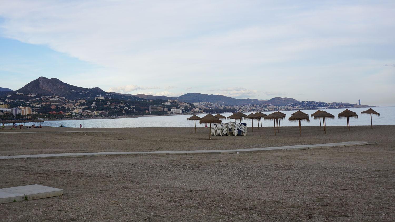 Rundreise Andalusien Malaga Stadtstrand