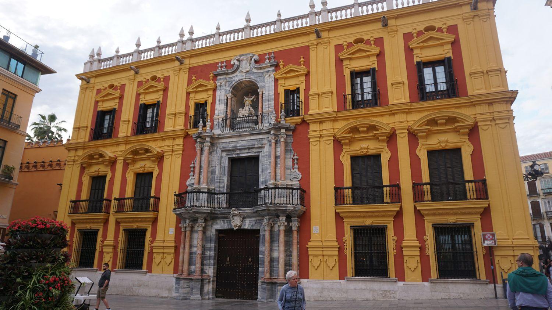 Rundreise Andalusien Malaga Bischofspalas