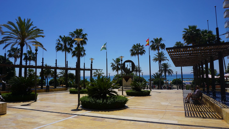 Rundreise Andalusien Marbella Avenida del Mar