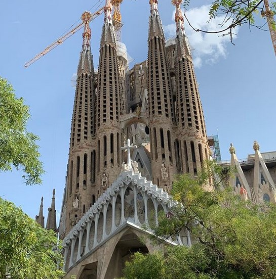 Sagrada Familia in September