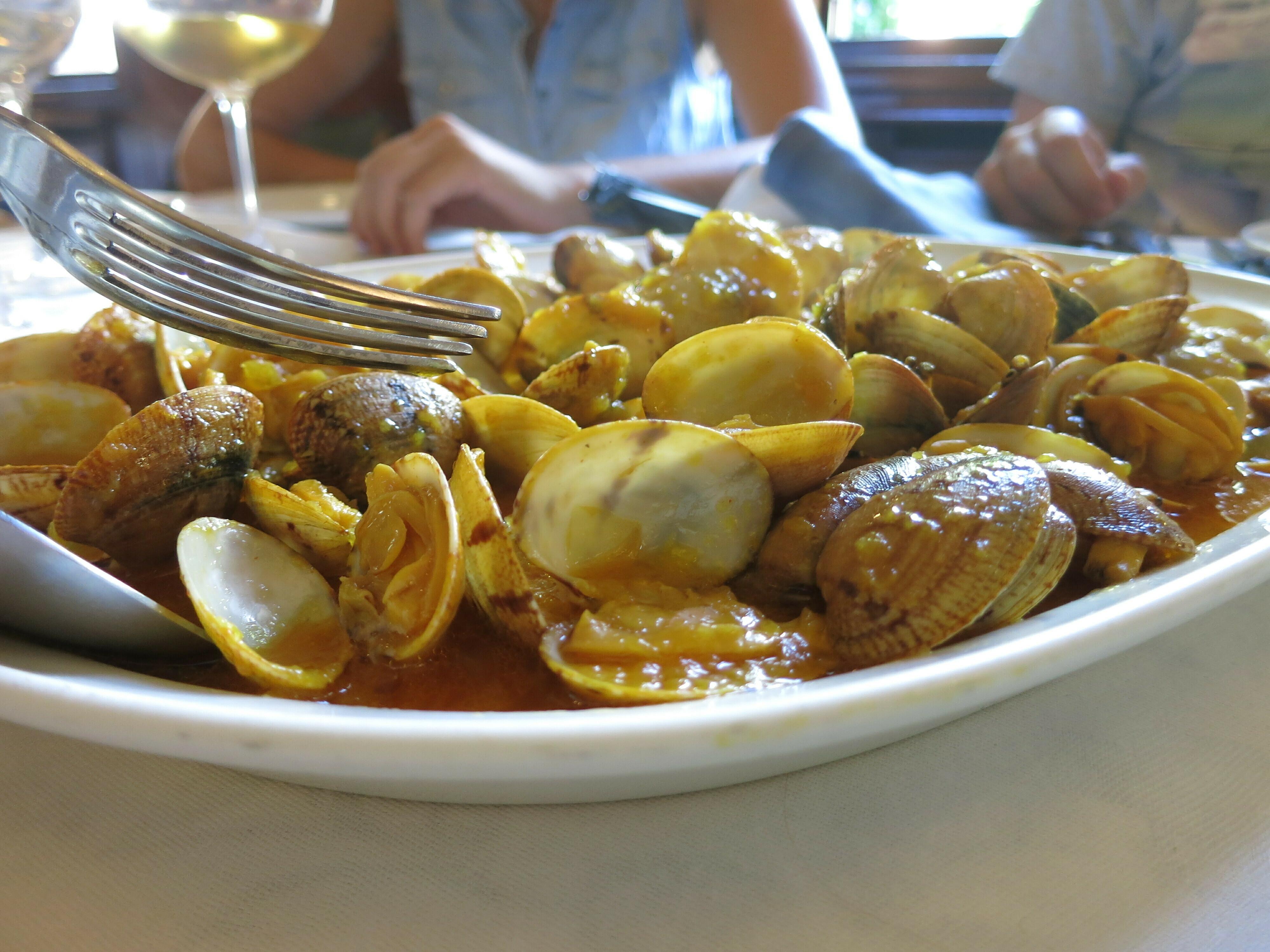 Auswandern nach Spanien-gute Meeresfrüchte