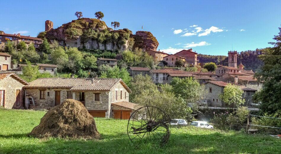 Rupit - ein kleins Dorf in der Nähe von Barcelona
