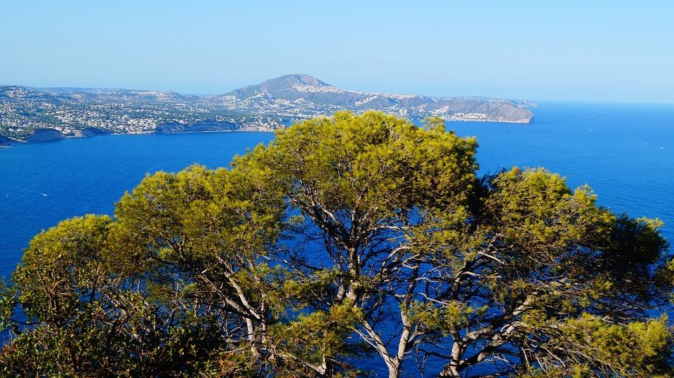 Meer und Berge spanien