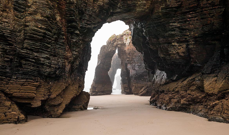 Praia de las Kathedrales