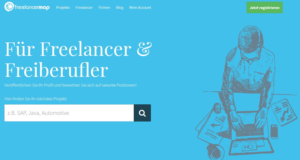 Freelancermap.de beste freelancer jobs