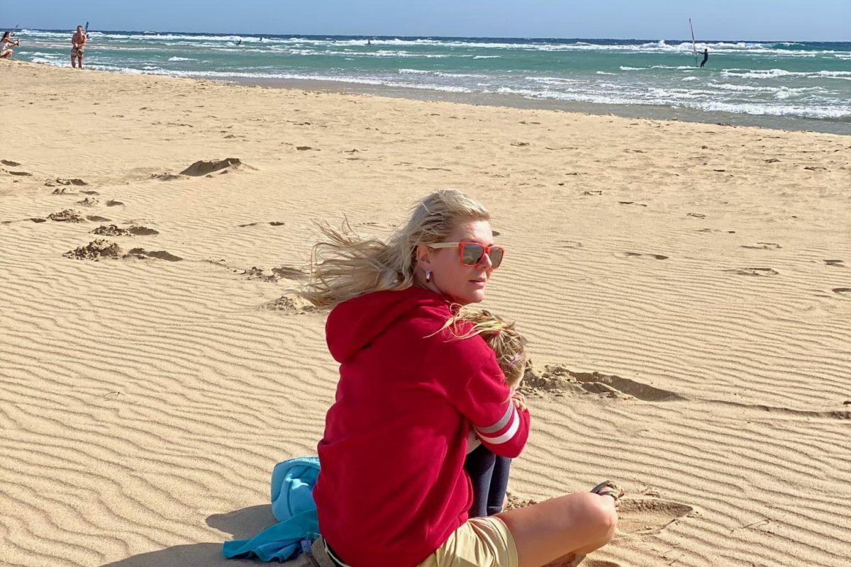 Urlaub auf Fuerteventura mit Kindern - playa Sotavento