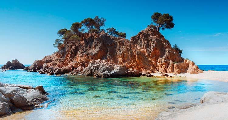 Platja d'Aro- die schönsten Strände nicht weit von Barcelona