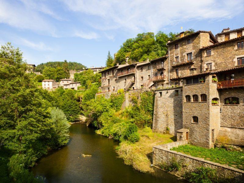 Rupit y Pruït - die schönsten Mittelalterliche Dörfer Kataloniens
