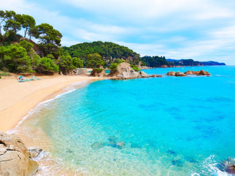 Santa-Cristina-Beach-and-Cala-Treumal-schönste Orte um Barcelona