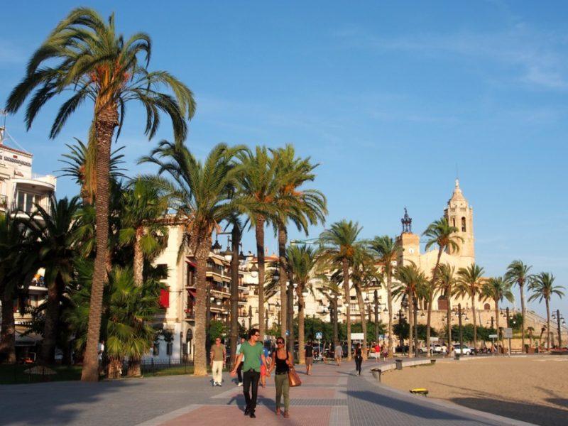 Sitges-ausflugsziele in Katalunia